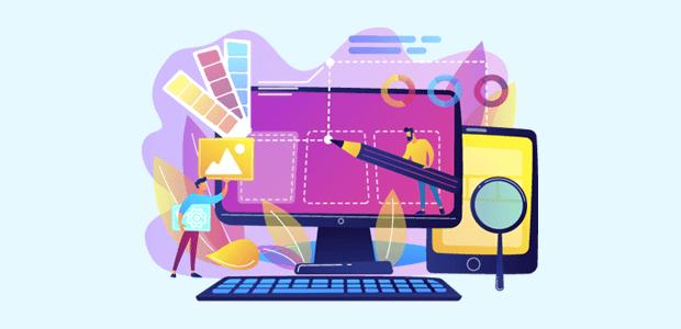 Examen de la création de site Web